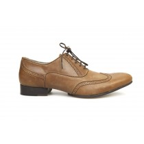 Wingtip Cognac Oxford